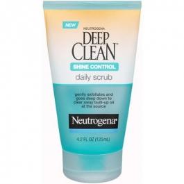 Neutrogena Deep Clean Long-Last Shine Control Daily Scrub 4.2 Ounces