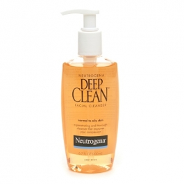Neutrogena Deep Clean Facial Cleanser, For Normal to Oily Skin- 6.7oz