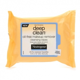 Neutrogena Deep Clean Oil-Free Makeup Remover Cleansing Wipes- 25ct