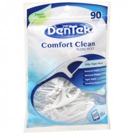 DenTek Comfort Clean Floss Picks, Fresh Mint- 90ct