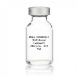 Depo-Testosterone  (Testosterone Cypionate) 200mg/ml- 10ml Vial