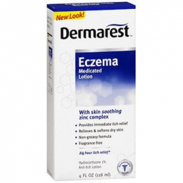 Dermarest Eczema Medicated Lotion Fragrance Free - 4.0 fl oz