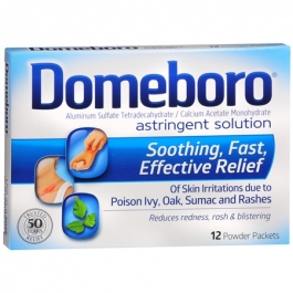 Domeboro Astringent Solution Powder Packets- 12ct