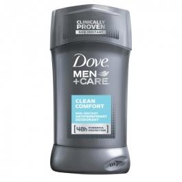 Dove Men+Care 48h Non-Irritant Antiperspirant, Clean Comfort- 2.7oz