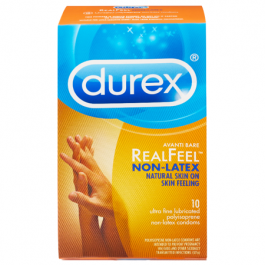 Durex RealFeel Latex Free Condoms - 10ct