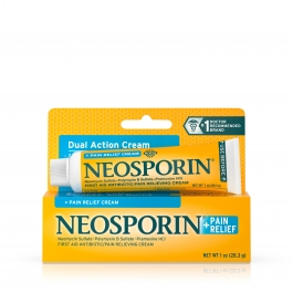 Neosporin + Pain Relief Dual Action Cream, 1oz