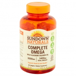 Sundown Naturals Complete Omega Dietary Supplement Softgels 1400mg 90ct