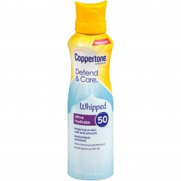 Coppertone Clearly Sheer Whipped Sunscreen Lotion - Spf 50 - 5oz