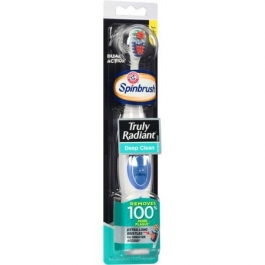 Arm & Hammer Spinbrush - Powered Toothbrush - Truly Radiant Deep Clean 1 ct