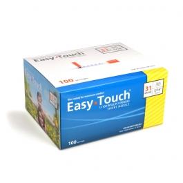"EasyTouch Insulin Syringe 31 Gauge, .3cc, 5/16"" - 100ct"