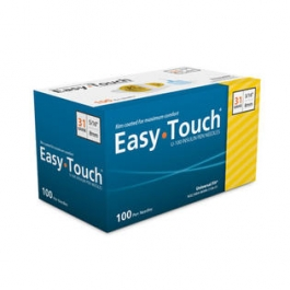 "EasyTouch Pen Needle 31 Gauge, 5/16"" - 100ct"