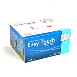 "EasyTouch Insulin Syringe 30 Gauge, .5cc, 1/2"" - 100ct"