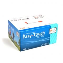 "EasyTouch Insulin Syringe 30 Gauge, .3cc, 5/16"" - 100ct"