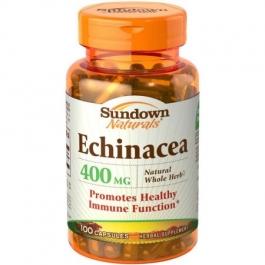 Sundown Naturals Echinacea 400 mg Capsules - 100ct