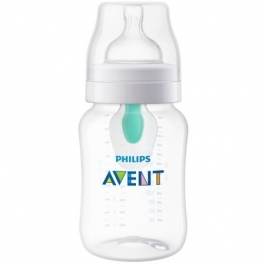 Philips AVENT Anti-colic Bottle with Insert 9oz - Clear ** Extended Lead Time **