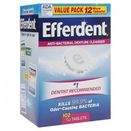 Efferdent Original Tablet - 102ct
