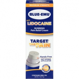 Blue-Emu Lidocaine Cream- 2.7oz