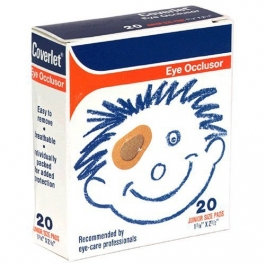 Coverlet Eye Occlusor Junior Size - 20ct