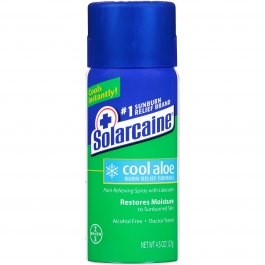 Solarcaine Aloe Extra Spray 4.5 oz