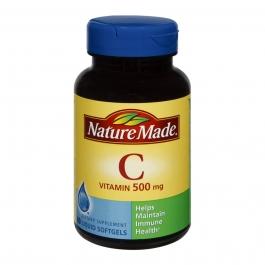 Nature Made Vitamin C 500mg Softgels 60ct