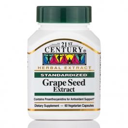 21st Century Grape Seed Extract Veg-Capsules, 60 ct