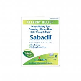Boiron Sabadil Allergy Relief 60 Tablets