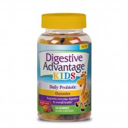 Digestive Advantage Probiotics Daily Probiotic Gummies for Kids, 60 Ct