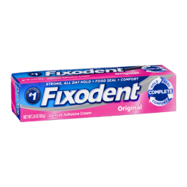 Fixodent Original Cream 2.4oz