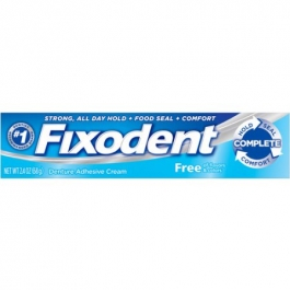 Fixodent Free Original Cream 2.4oz