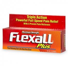 Flexall Plus Maximum Strength Pain Relieving Gel - 4.0 oz
