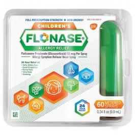 Children's Flonase Allergy Relief Spray 60 metered sprays - 0.33 oz