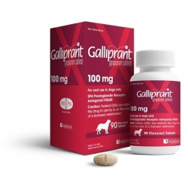 Galliprant (Grapiprant) 100mg Flavored Tablets for Dogs- 90ct