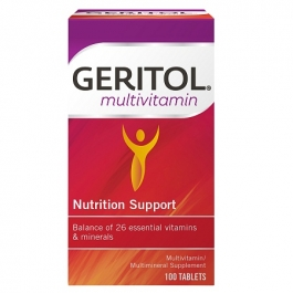 Geritol Complete Multivitamin Mineral Supplement Tablets - 100ct