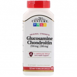 21st Century Glucosamine & Chondroitin, Original Formula, 120 Capsules