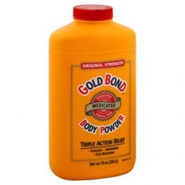 Gold Bond Original Strength Medicated Body Powder Triple Action Relief - 10oz