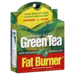 Green Tea Fat Burner Liquid Soft-Gels- 30ct