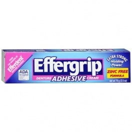 Effergrip Denture Cream Adhesive - 2.5 oz.
