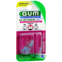 Gum Go-Betweens Proxabrush Refills Moderate - 8