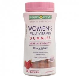 Nature's Bounty Optimal Solutions Women's Multi 50 mg, Gummies - 80ct