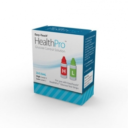EasyTouch HealthPro Hi/Lo Control Solution - 2x3.5 ml