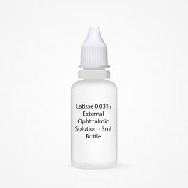 Latisse 0.03% External Ophthalmic Solution - 3ml Bottle