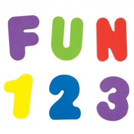 Munchkin Bath Letters and Numbers ** Extended Lead Time **