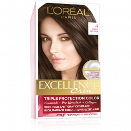 L'Oreal Paris Excellence Creme #4 Dark Brown