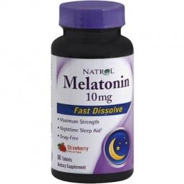 Natrol Melatonin 10mg Fast Dissolve Tablets Strawberry - 60ct