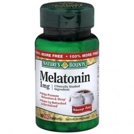 Natures Bounty Melatonin 1 mg Tablets - 180ct