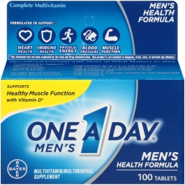 One A Day Men's Multivitamin/Multimineral Supplement Tablets- 100ct