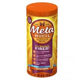 Metamucil Multi-Health Fiber, Orange Smooth Sugar Free - 10oz
