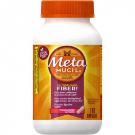 Metamucil Fiber Heart & Digestive Health Capsules - 160