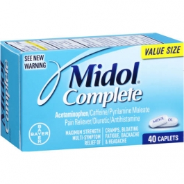 Midol Complete Maximum Strength Multi-Symptom Caplets - 40ct