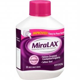 Miralax Laxative Powder- 17.9 oz